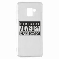 Чохол для Samsung A8+ 2018 Parental Advisory