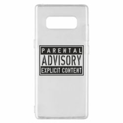 Чохол для Samsung Note 8 Parental Advisory
