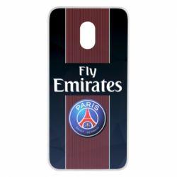 Купить ПСЖ (PSG), Чехол для Meizu M6 Paris Saint Germain, FatLine