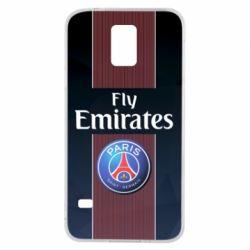 Купить ПСЖ (PSG), Чехол для Samsung S5 Paris Saint Germain, FatLine