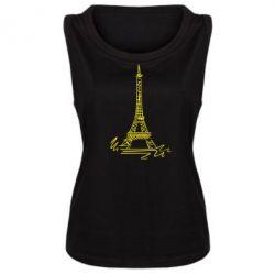 Женская майка Paris - FatLine