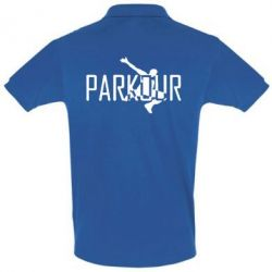 Футболка Поло Parkour Logo - FatLine