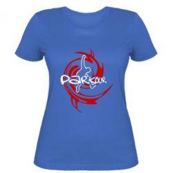 Женская футболка Parkour Logo