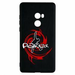 Чехол для Xiaomi Mi Mix 2 Parkour Logo - FatLine