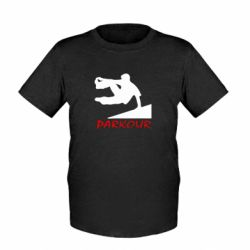 Детская футболка Parkour Run