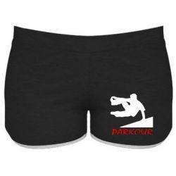 Женские шорты Parkour Run - FatLine