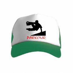 Дитяча кепка-тракер Parkour Run
