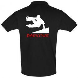 Мужская футболка поло Parkour Run