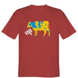 Футболка Патріотична корова