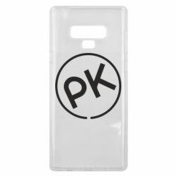 Чохол для Samsung Note 9 Paul Kalkbrenner