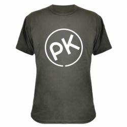 Камуфляжна футболка Paul Kalkbrenner