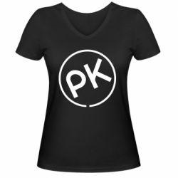 Жіноча футболка з V-подібним вирізом Paul Kalkbrenner