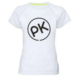 Жіноча спортивна футболка Paul Kalkbrenner
