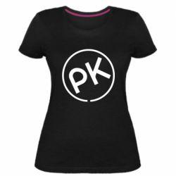 Жіноча стрейчева футболка Paul Kalkbrenner