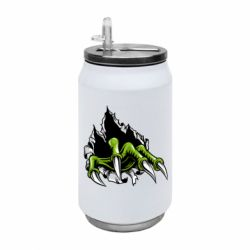 Термобанка 350ml Paw with claws tearing fabric