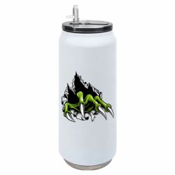 Термобанка 500ml Paw with claws tearing fabric
