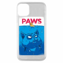 Чехол для iPhone 11 Pro Paws and cat