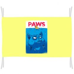 Флаг Paws and cat