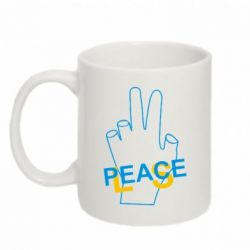 Кружка 320ml Peace - FatLine