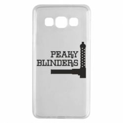 Чохол для Samsung A3 2015 Peaky Blinders and weapon