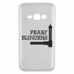 Чохол для Samsung J1 2016 Peaky Blinders and weapon