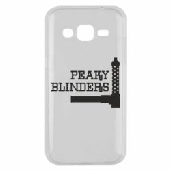 Чохол для Samsung J2 2015 Peaky Blinders and weapon