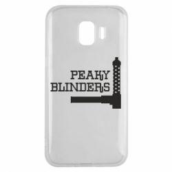 Чохол для Samsung J2 2018 Peaky Blinders and weapon