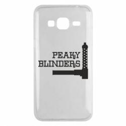Чохол для Samsung J3 2016 Peaky Blinders and weapon