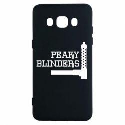Чохол для Samsung J5 2016 Peaky Blinders and weapon