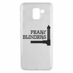 Чохол для Samsung J6 Peaky Blinders and weapon