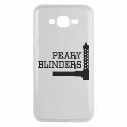 Чохол для Samsung J7 2015 Peaky Blinders and weapon