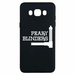 Чохол для Samsung J7 2016 Peaky Blinders and weapon