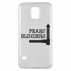Чохол для Samsung S5 Peaky Blinders and weapon
