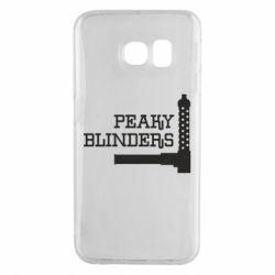 Чохол для Samsung S6 EDGE Peaky Blinders and weapon