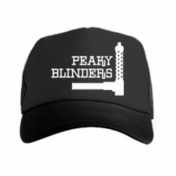 Кепка-тракер Peaky Blinders and weapon
