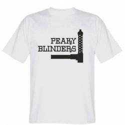 Чоловіча футболка Peaky Blinders and weapon