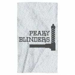 Рушник Peaky Blinders and weapon