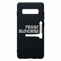 Чохол для Samsung S10+ Peaky Blinders and weapon
