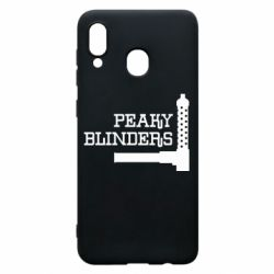Чохол для Samsung A30 Peaky Blinders and weapon