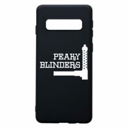 Чохол для Samsung S10 Peaky Blinders and weapon