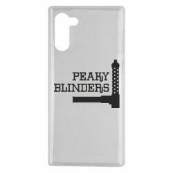 Чохол для Samsung Note 10 Peaky Blinders and weapon