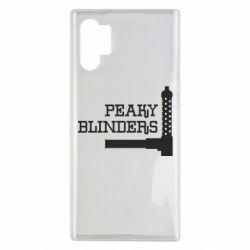 Чохол для Samsung Note 10 Plus Peaky Blinders and weapon