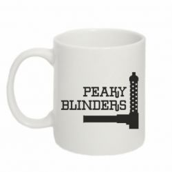 Кружка 320ml Peaky Blinders and weapon