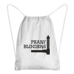 Рюкзак-мішок Peaky Blinders and weapon