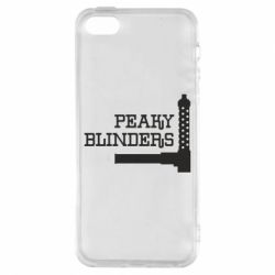 Чохол для iphone 5/5S/SE Peaky Blinders and weapon