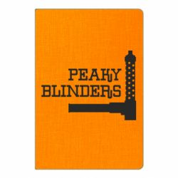 Блокнот А5 Peaky Blinders and weapon