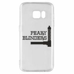Чохол для Samsung S7 Peaky Blinders and weapon