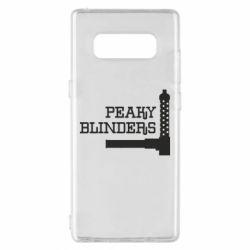 Чохол для Samsung Note 8 Peaky Blinders and weapon