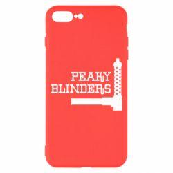 Чохол для iPhone 8 Plus Peaky Blinders and weapon