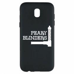 Чохол для Samsung J5 2017 Peaky Blinders and weapon
